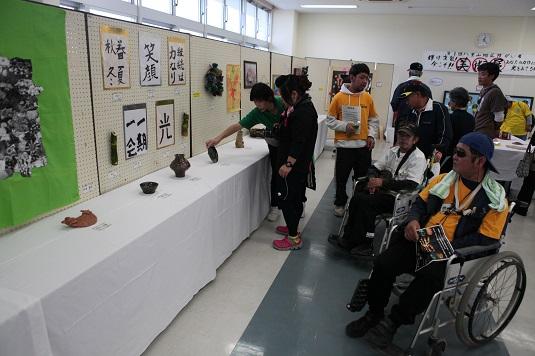 健康福祉祭で美術展 510人が来場