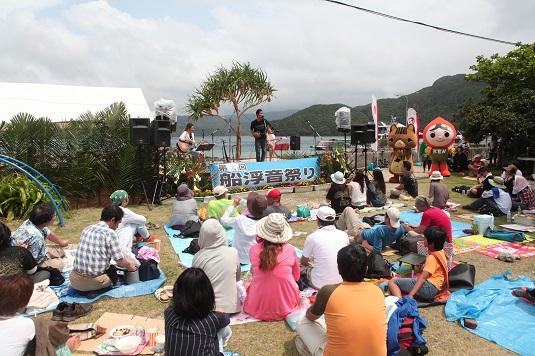 第9回船浮音祭り盛会