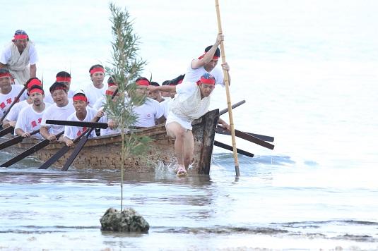 黒島の豊年祭
