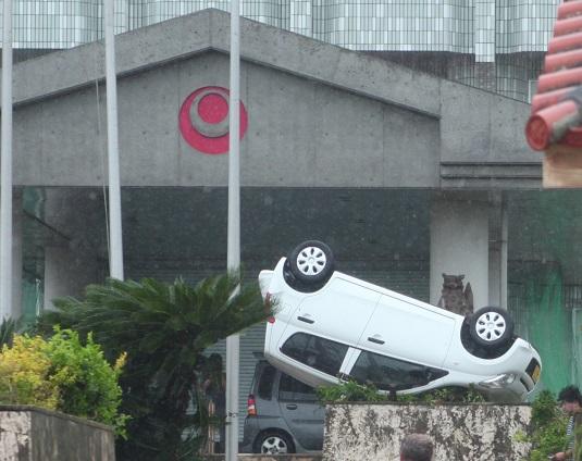 台風13号被害