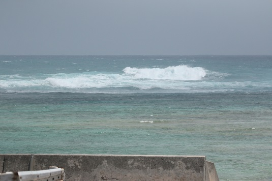台風15号の直撃コース
