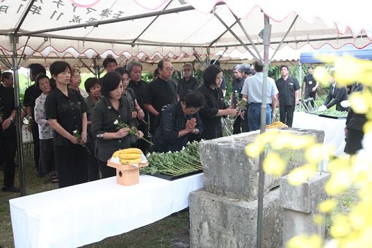 明和大津波遭難者慰霊祭