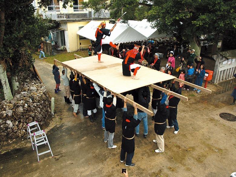 黒島で旧正月伝統行事