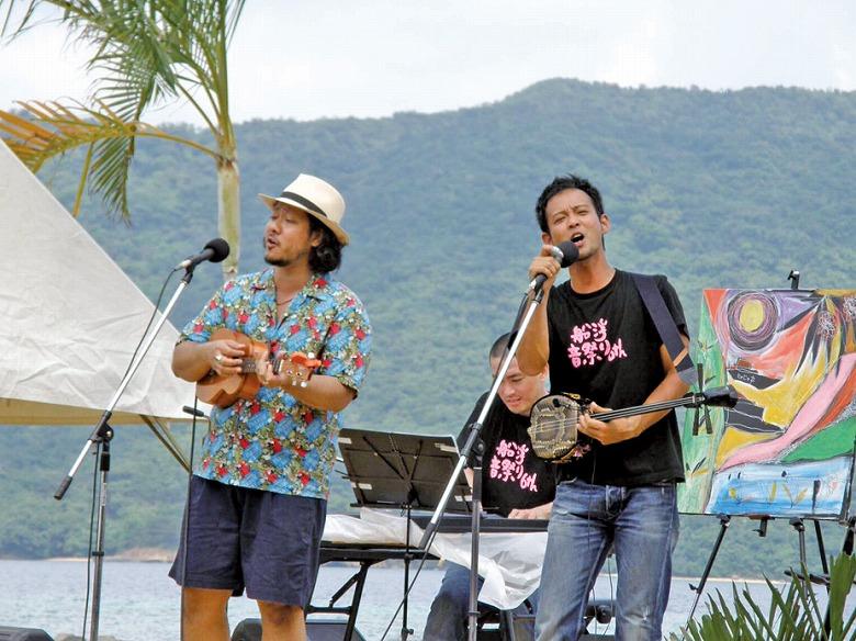 船浮音祭り開催
