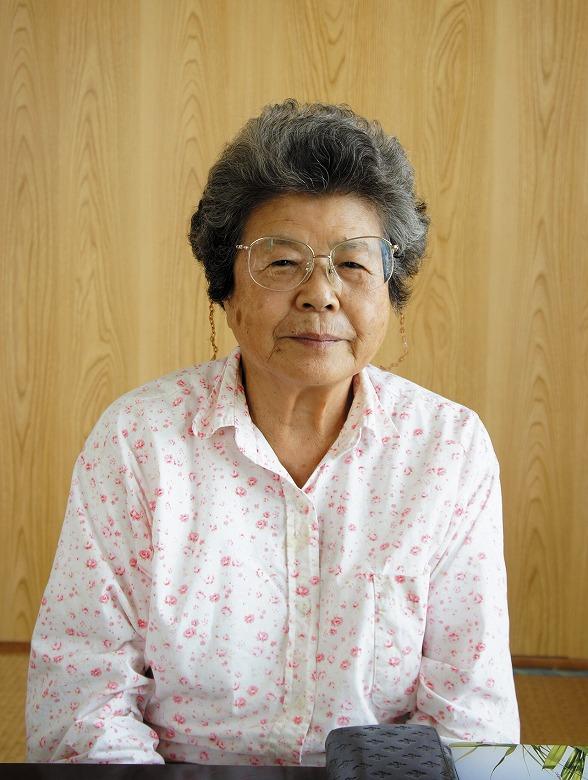 179 石垣 正子さん 昭和8年12月14日 満78歳