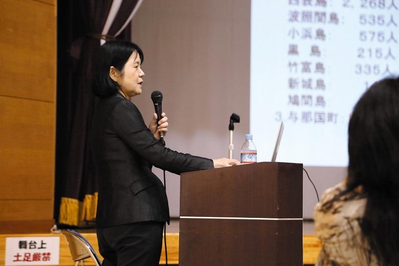 八重山病院新院長の依光先生の講演会開催