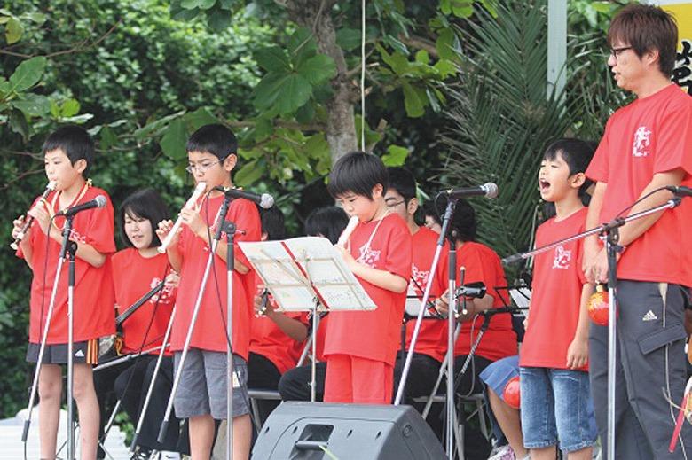 鳩間島音楽祭行われる