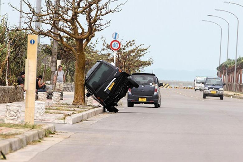 台風7号、最大瞬間風速60・2メートルを記録