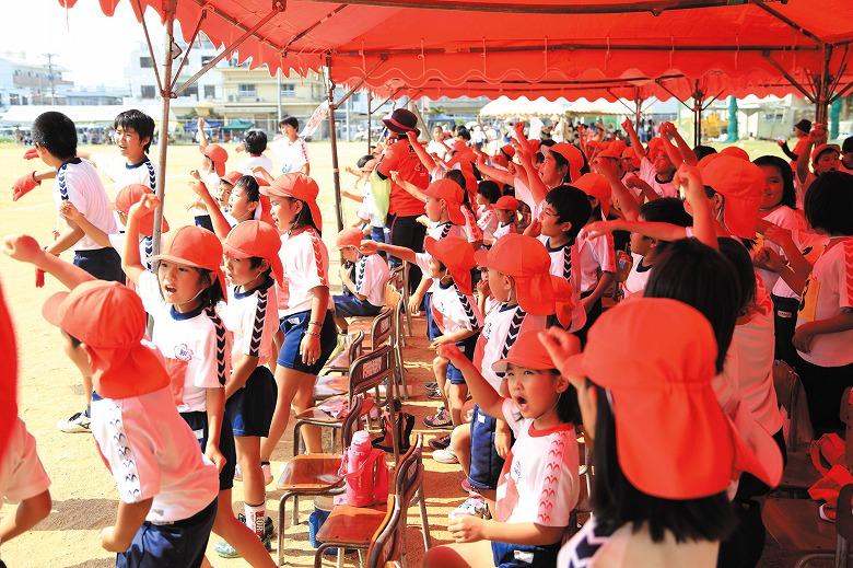 新川小学校・あらかわ幼稚園運動会の昼ごはん