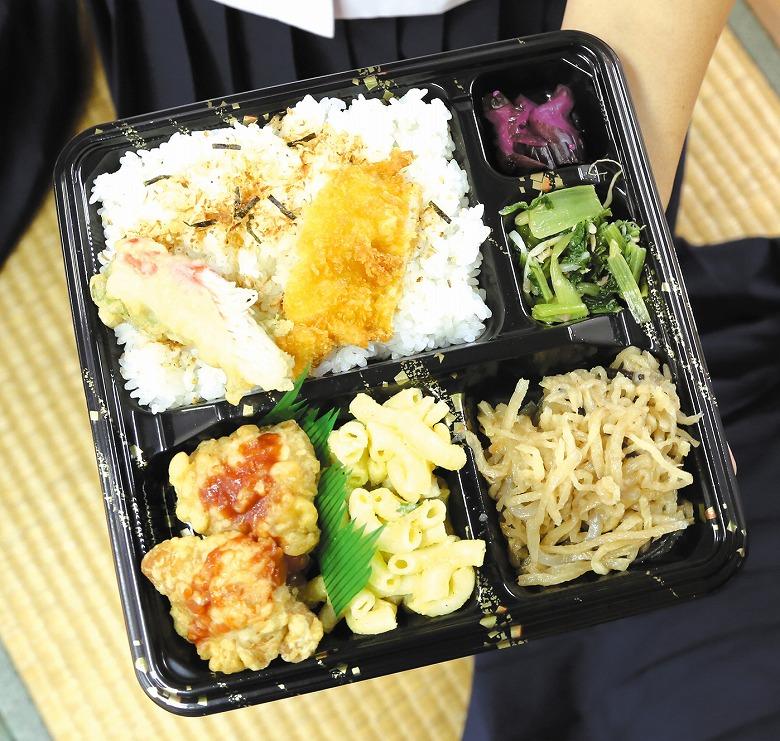 八重山地区 中学校総合文化祭の昼ごはん