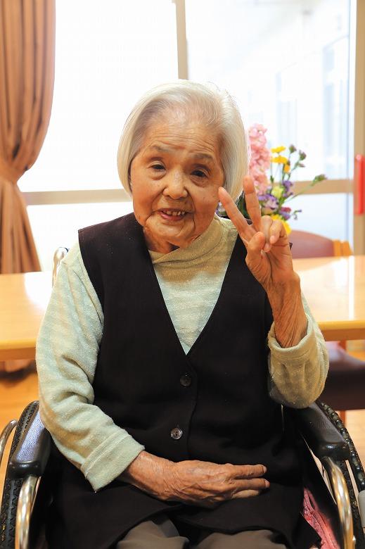 194 宜野座 シケさん 大正2年5月16日生まれ 満101歳