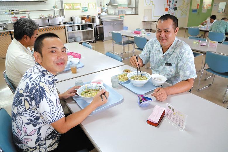 ANAインターコンチネンタル石垣リゾート 社員食堂の昼ごはん