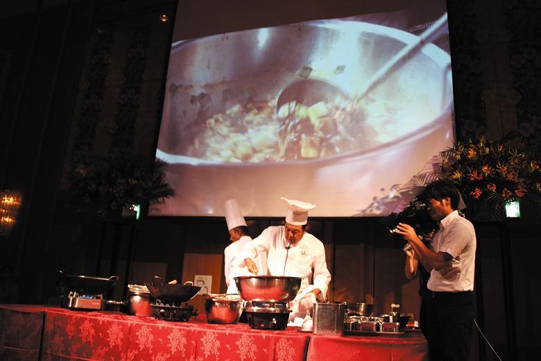 料理の鉄人、陳建一さんの料理イベント開催