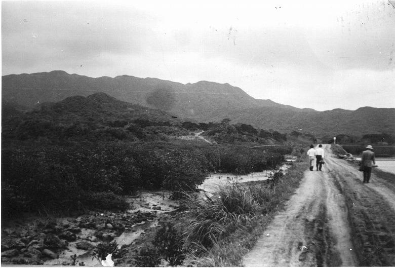古文書にみる西表島の北岸を通る古見島北堅道